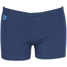 arena Feather Shorts Men navy/turquoise